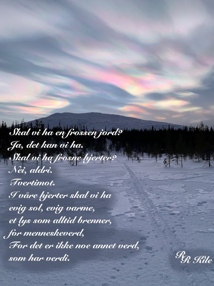 Vers om menneskeverd, religioner i fri vilje, forfatter, R.R. Kile.Overgrep