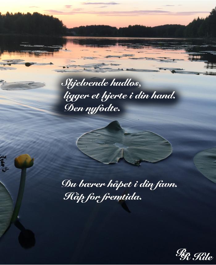 Ordlek, poesi, lyrikk, dikt, vers, så mange solnedganger å se, gleder i ord, å male vakre ord rundt mennesker, De bærer fremtida, ungene, Forfatter R.R. Kile