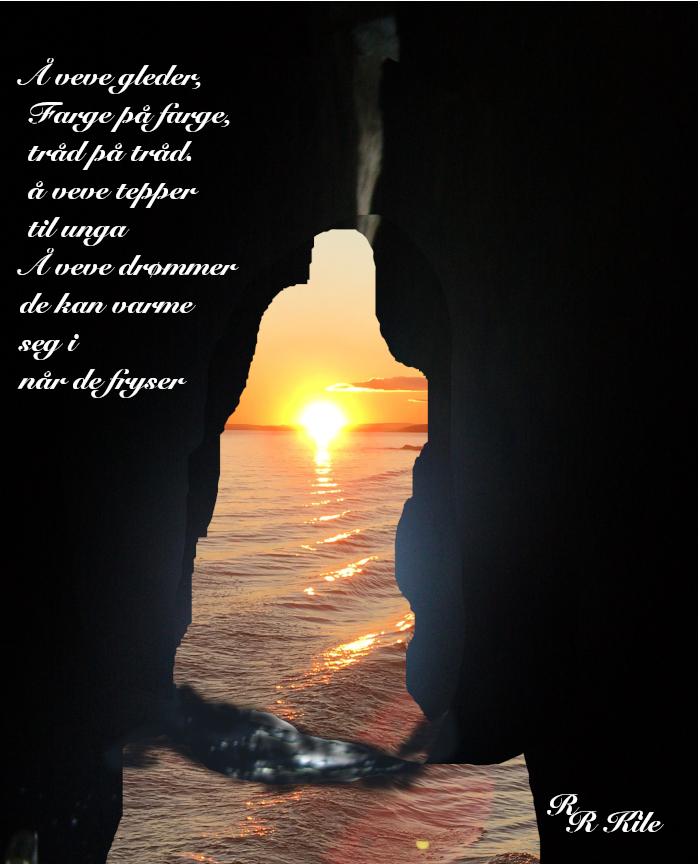 Vers og dikt, å veve gleder, vi kan alt vi vil, jorda vår med mennesker på, ei sol for alle, som kan flytte måner i et svelg, poesi, lyrikk, forfatter R.R. Kile